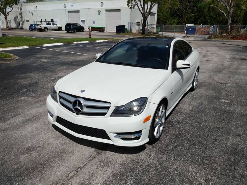 2012 Mercedes-Benz C-Class for sale at Best Price Car Dealer in Hallandale Beach FL