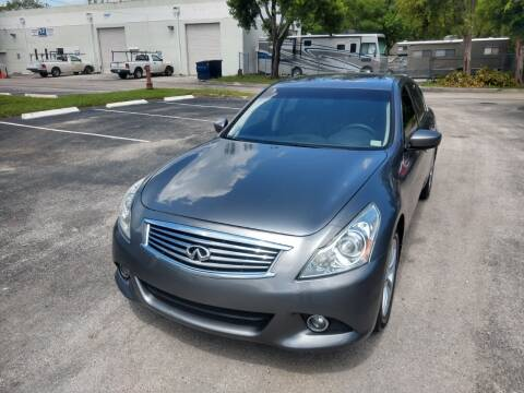2011 Infiniti G37 Sedan for sale at Best Price Car Dealer in Hallandale Beach FL