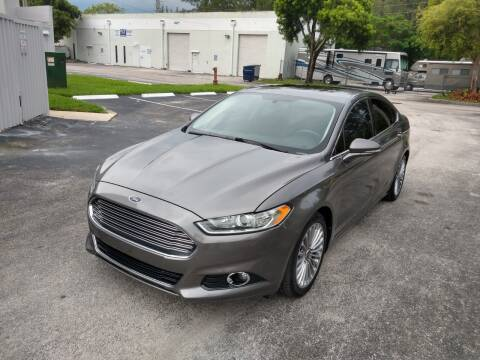 2014 Ford Fusion for sale at Best Price Car Dealer in Hallandale Beach FL