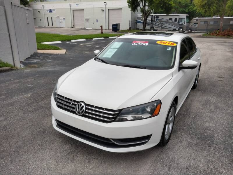 2015 Volkswagen Passat for sale at Best Price Car Dealer in Hallandale Beach FL