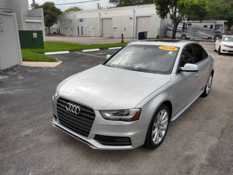 2014 Audi A4 for sale at Best Price Car Dealer in Hallandale Beach FL