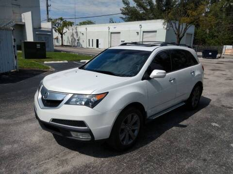 2011 Acura MDX for sale at Best Price Car Dealer in Hallandale Beach FL