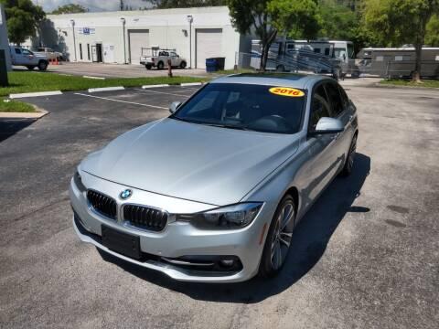 2016 BMW 3 Series for sale at Best Price Car Dealer in Hallandale Beach FL