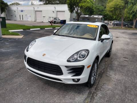 2015 Porsche Macan for sale at Best Price Car Dealer in Hallandale Beach FL