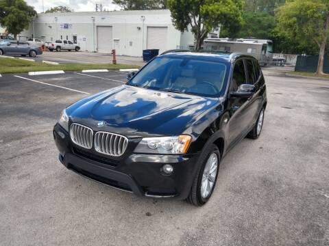 2013 BMW X3 for sale at Best Price Car Dealer in Hallandale Beach FL