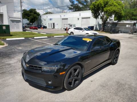 2015 Chevrolet Camaro for sale at Best Price Car Dealer in Hallandale Beach FL