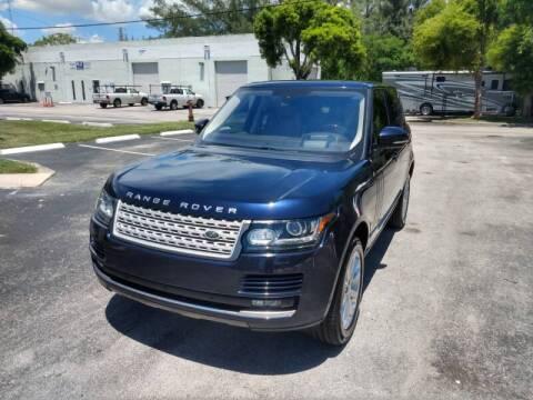 2016 Land Rover Range Rover for sale at Best Price Car Dealer in Hallandale Beach FL