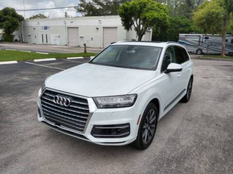 2017 Audi Q7 for sale at Best Price Car Dealer in Hallandale Beach FL