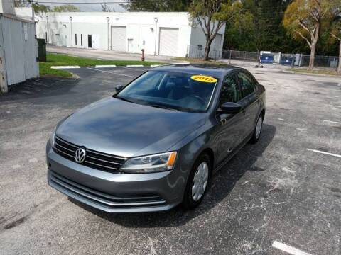 2015 Volkswagen Jetta for sale at Best Price Car Dealer in Hallandale Beach FL