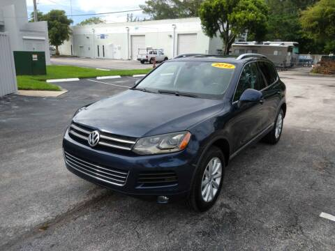 2012 Volkswagen Touareg for sale at Best Price Car Dealer in Hallandale Beach FL