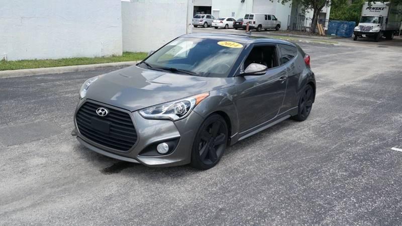 2014 Hyundai Veloster for sale at Best Price Car Dealer in Hallandale Beach FL