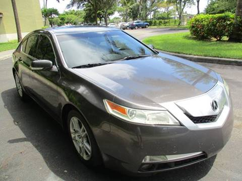 2009 Acura TL for sale in Hallandale Beach, FL