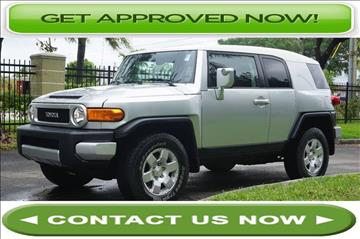 2007 Toyota FJ Cruiser for sale in Hallandale Beach, FL