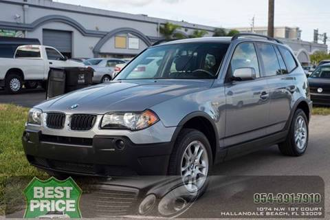2005 BMW X3 for sale in Hallandale Beach, FL