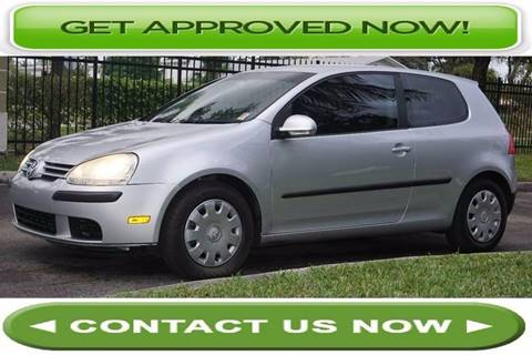 2008 Volkswagen Rabbit for sale in Hallandale Beach, FL