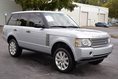 2008 Land Rover Range Rover for sale in Hallandale Beach, FL