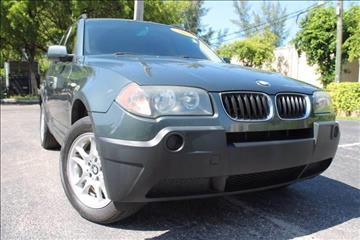 2005 BMW X3 for sale in Hallandale Beach, FL
