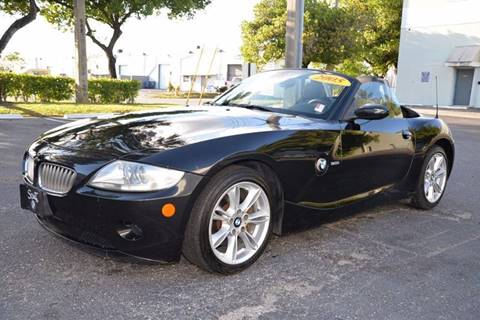 2005 BMW Z4 for sale in Hallandale Beach, FL