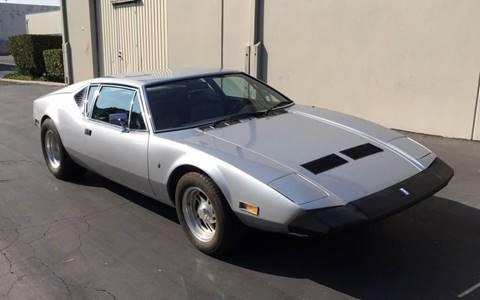 Detomaso Pantera For Sale >> 1973 De Tomaso Pantera For Sale In West Alexander Pa