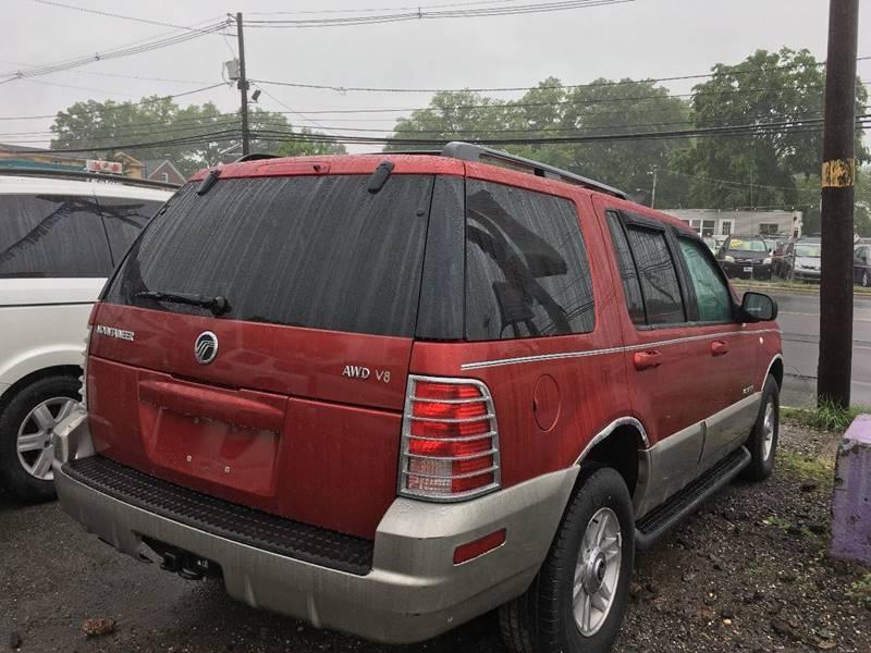 2002 Mercury Mountaineer AWD 4dr SUV - Linden NJ
