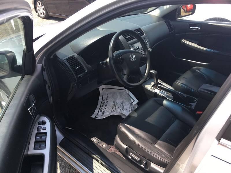 2006 Honda Accord EX 4dr Sedan 5A w/Leather - Linden NJ