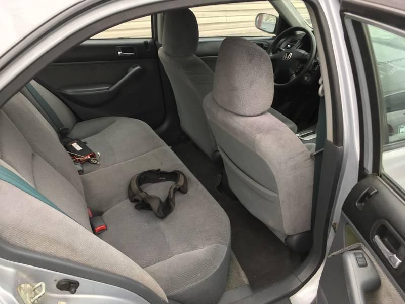 2002 Honda Civic LX 4dr Sedan - Linden NJ