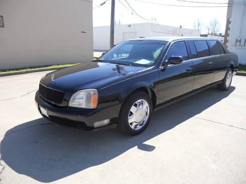 Limousine For Sale >> 2000 Cadillac Deville Professional For Sale In Wickliffe Oh