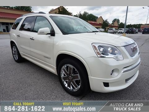 2012 GMC Acadia for sale in Mauldin, SC
