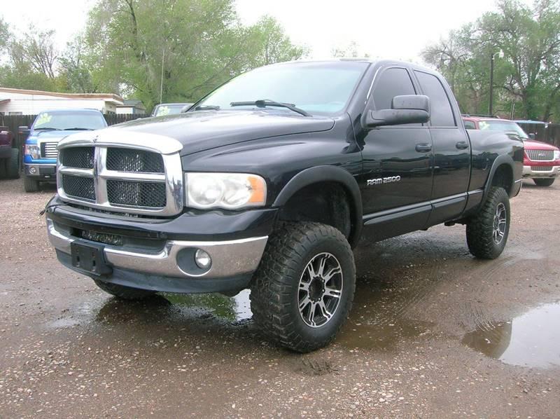 Fort Collins Dodge >> 2004 Dodge Ram Pickup 2500 4dr Quad Cab Slt 4wd Sb In Fort Collins