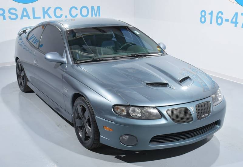 2005 Pontiac Gto 2dr Coupe In Blue Springs Mo Universal Auto Plaza