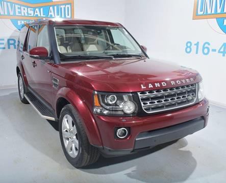 2015 Land Rover LR4 for sale in Blue Springs, MO