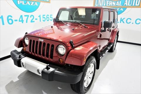 2013 Jeep Wrangler Unlimited for sale in Blue Springs, MO
