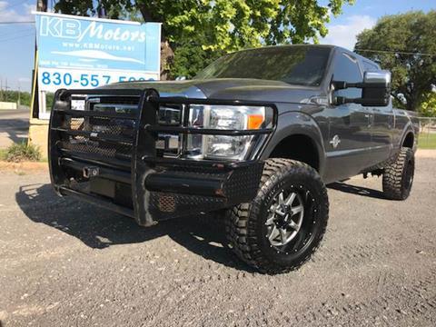 2015 Ford F-350 Super Duty for sale at K & B Motors LLC in Mc Queeney TX