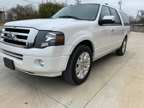 2011 Ford Expedition EL for sale at K & B Motors LLC in Mc Queeney TX