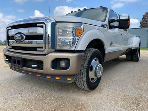 2011 Ford F-350 Super Duty for sale at K & B Motors LLC in Mc Queeney TX