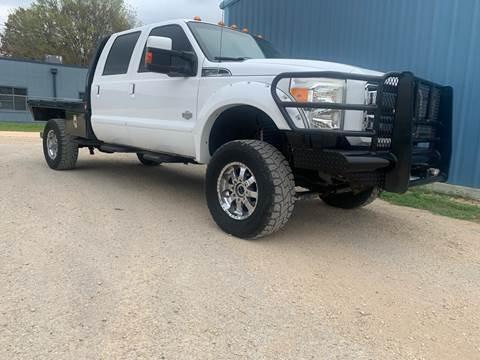 2012 Ford F-350 Super Duty for sale at K & B Motors LLC in Mc Queeney TX