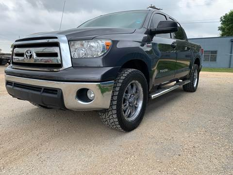 2013 Toyota Tundra for sale at K & B Motors LLC in Mc Queeney TX