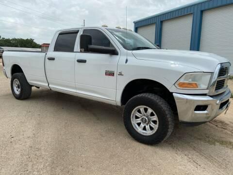 2011 RAM Ram Pickup 3500 for sale at K & B Motors LLC in Mc Queeney TX