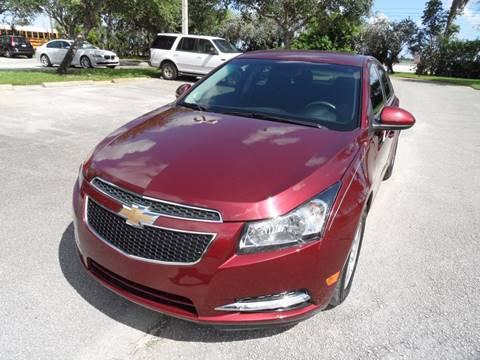 2016 Chevrolet Cruze Limited for sale in Hollywood, FL
