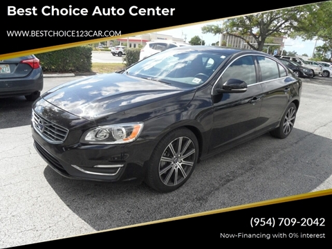 2017 Volvo S60 for sale in Hollywood, FL