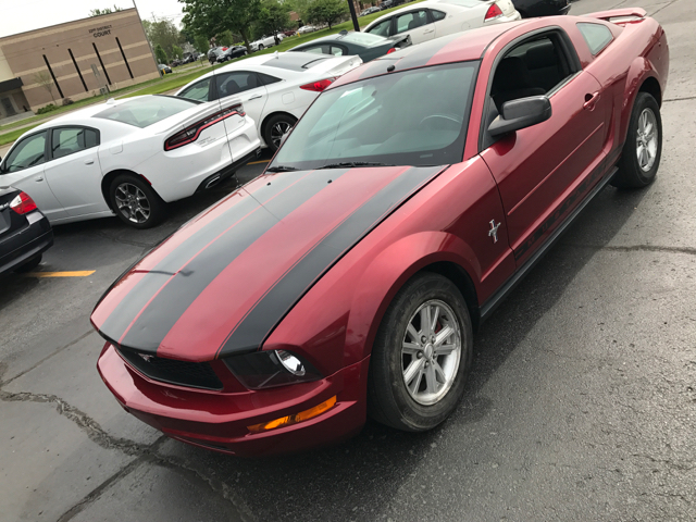 2007 ford mustang v6 deluxe 2dr coupe in inkster mi maryan auto sales contact publicscrutiny Image collections