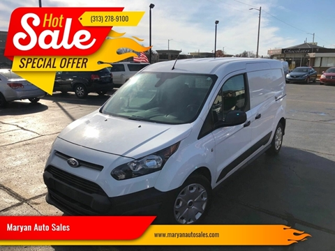 2015 Ford Transit Connect Cargo for sale in Inkster, MI