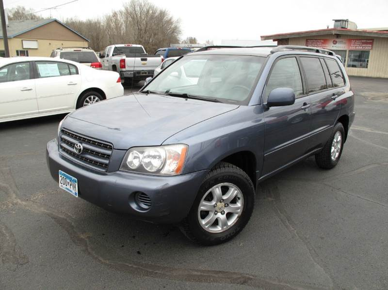 2001 Toyota Highlander V6 AWD 4dr SUV - Saint Cloud MN