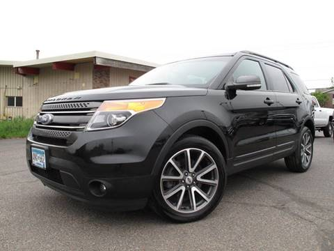 2015 Ford Explorer for sale at Lawrence Family Motors in Saint Cloud MN