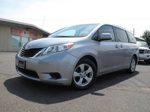 2014 Toyota Sienna for sale at Lawrence Family Motors in Saint Cloud MN