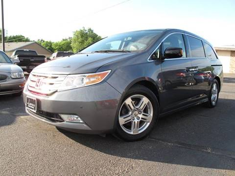 2011 Honda Odyssey for sale at Lawrence Family Motors in Saint Cloud MN