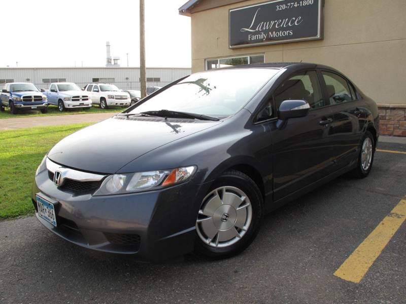 2010 Honda Civic Hybrid >> 2010 Honda Civic Hybrid In Saint Cloud Mn Lawrence Family