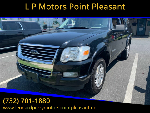 2008 Ford Explorer for sale at L P Motors Point Pleasant in Point Pleasant NJ