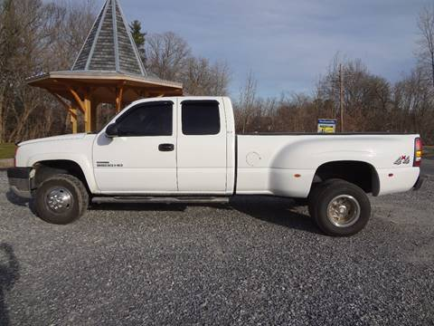 2004 Chevrolet Silverado 3500 for sale at Celtic Cycles in Voorheesville NY