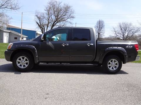 2004 Nissan Titan for sale at Celtic Cycles in Voorheesville NY